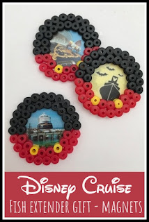 Disney Cruise Fish Extender magnets idea