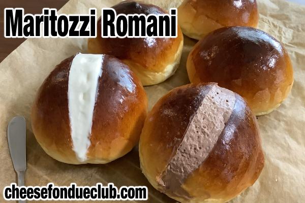 Maritozzi Romani マリトッツオのレシピ
