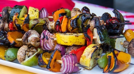 How to Make Vegetable Kabobs
