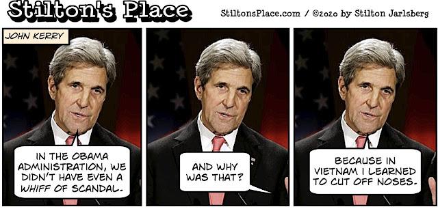 stilton's place, stilton, political, humor, conservative, cartoons, jokes, hope n' change, kerry, iran, scandal, obama, cash