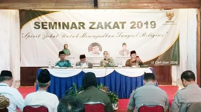 Baznas Tangsel: Masih Rendah Pengetahuan Umat Islam Tentang Zakat