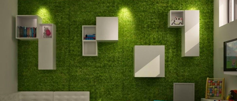 8 ideas para utilizar el c sped artificial de una manera diferente a la normal - Casa para jardin infantil ...
