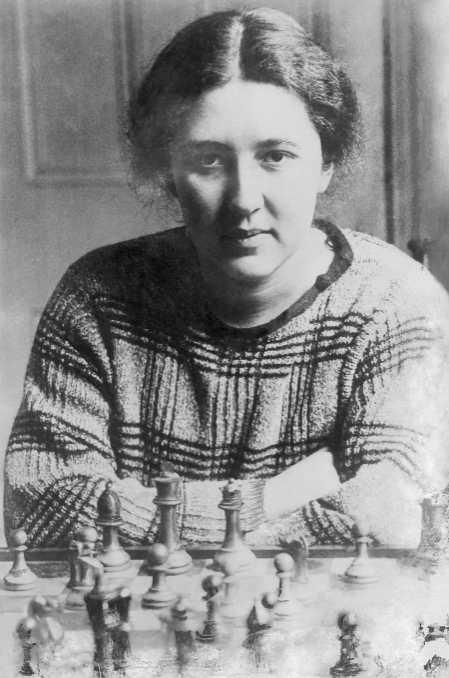 Vera Menchik dans la fin des années 20. (ullstein bild/Getty Images)