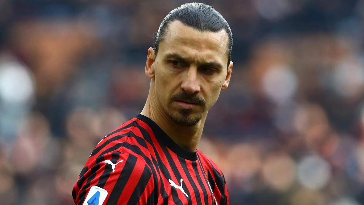 AC Milan striker Zlatan Ibrahimovic