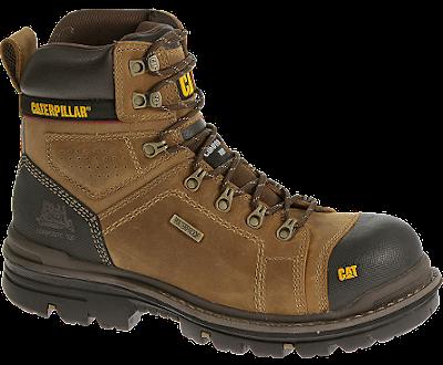 Sepatu Safety Caterpillar Hauler 6 inc CT ULTRADUTY Dark Beige Original