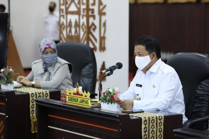 Dampak Covid-19, Gubernur Lampung Shalat Idul Fitri Di Rumah