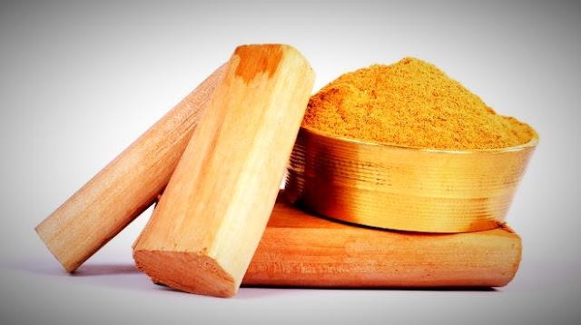 Sandal powder for blackheads problem