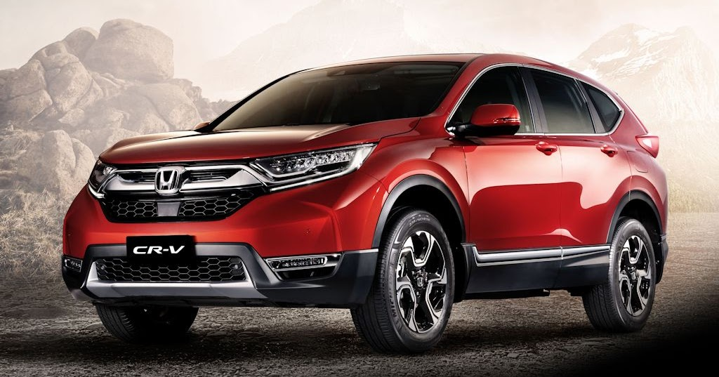 7 seater diesel powered 2018 honda cr v lands in the for Honda crv price
