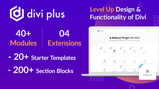 Divi Plus v1.8.1 - 41 Powerful Modules for Divi Theme