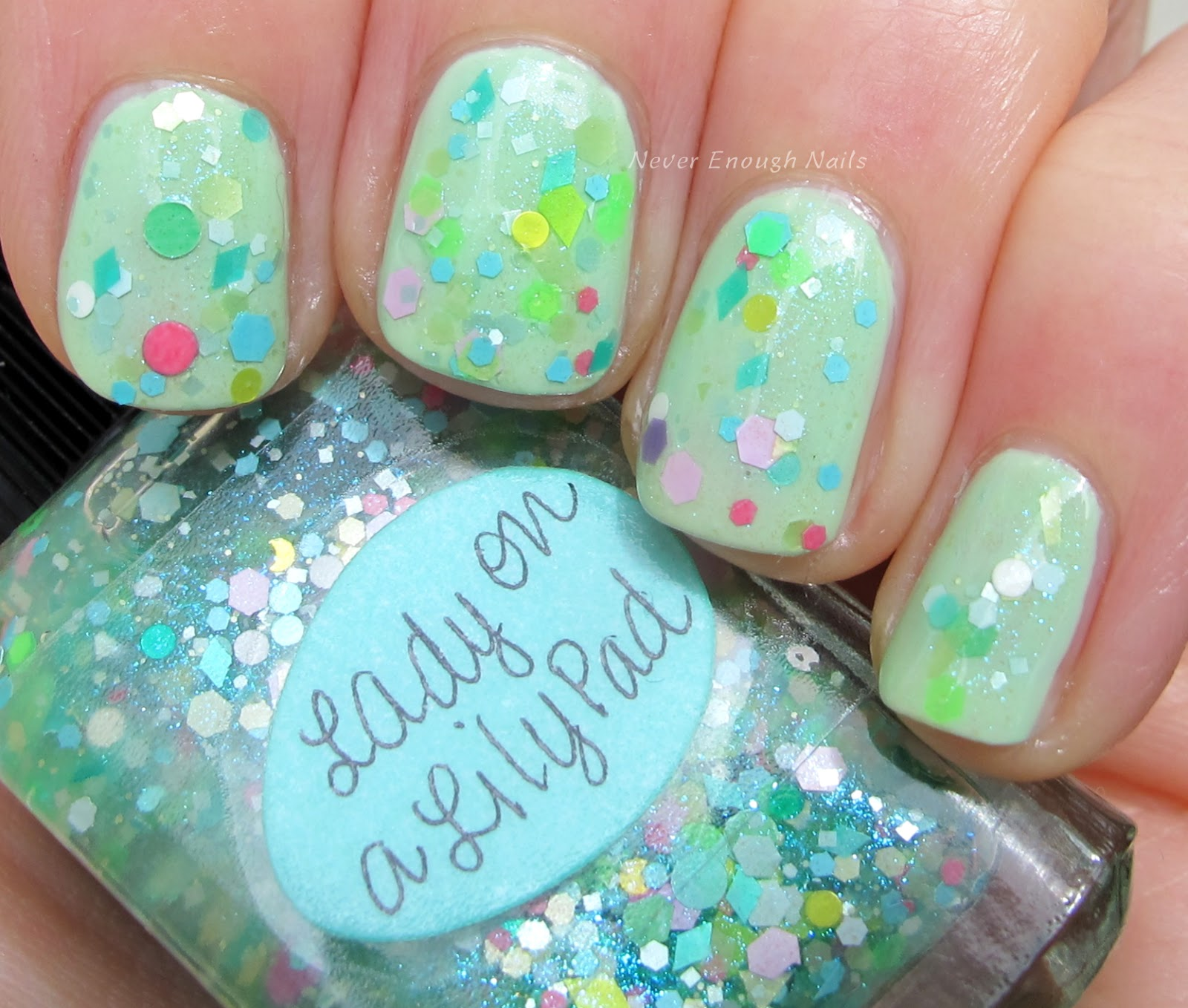 Lynnderella Lady On A Lily Pad And Spring Thing Swatches