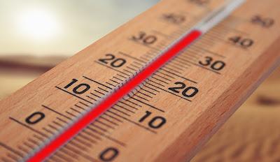温度計、夏