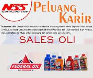 Lowongan Kerja Sales Oli di Nusantara Sakti Group