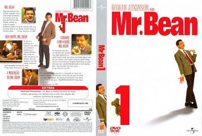 Série Mr. Bean 1º Temporada Completa DVD Capa