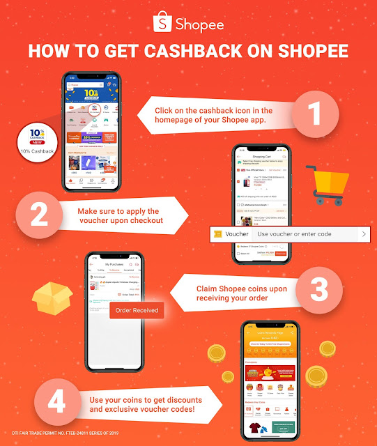 Try Shopee's Cashback This New Year To Enjoy Extra Savings While Shopping
