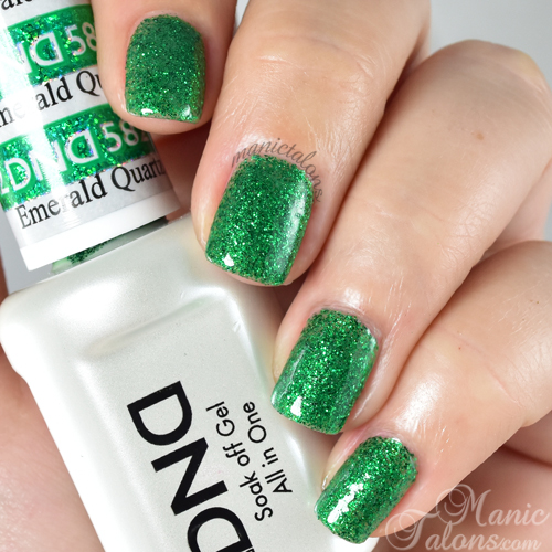 Daisy Duo Gel Polish Emerald Quartz Swatch