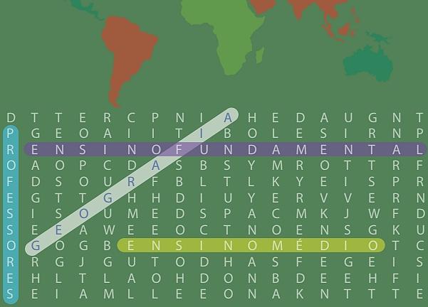 E-Book: Caça-palavras de Geografia (Ensino fundamental)