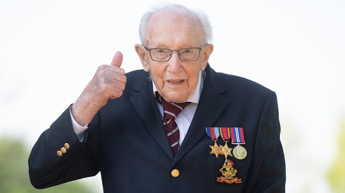 Covid-19: Captain Tom Moore, who raised millions for the NHS, dies aged 100
