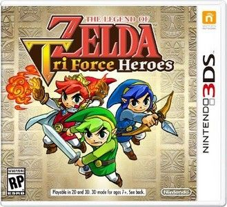 Rom The Legend of Zelda Tri Force Heroes 3DS