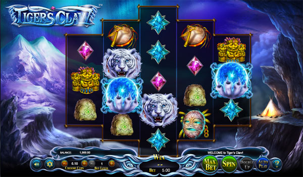 Main Gratis Slot Indonesia - Tiger's Claw Betsoft