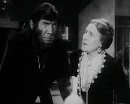Bela Lugosi and Minerva Urecal in The Ape Man (1943)