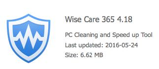 Wise Registry Cleaner 2016 Installer filehippo