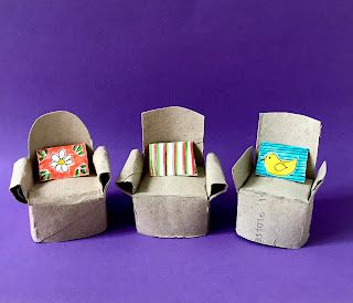 toilet paper roll armchairs