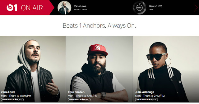 Apple launched its own radio Beats 1
