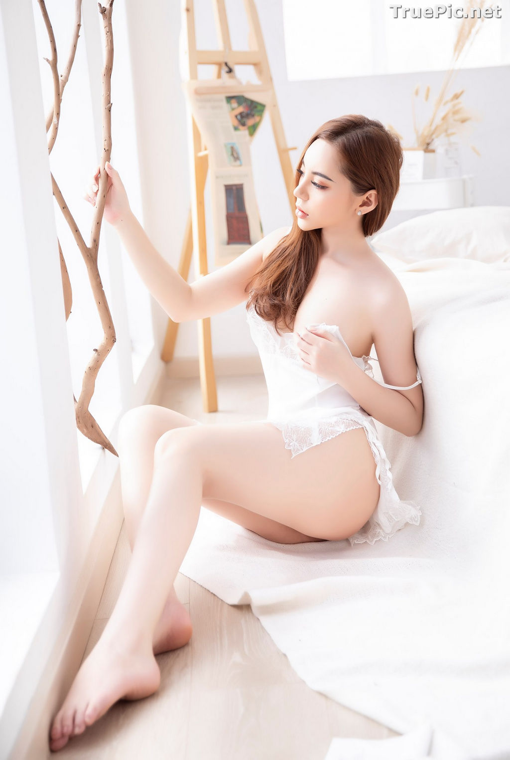 Image Vietnamese Model – Hot Beautiful Girls In White Collection #2 - TruePic.net - Picture-9