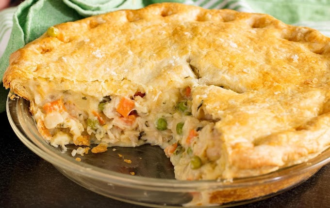 Chicken Pot Pie #dinnerrecipe #food #amazingrecipe #easyrecipe