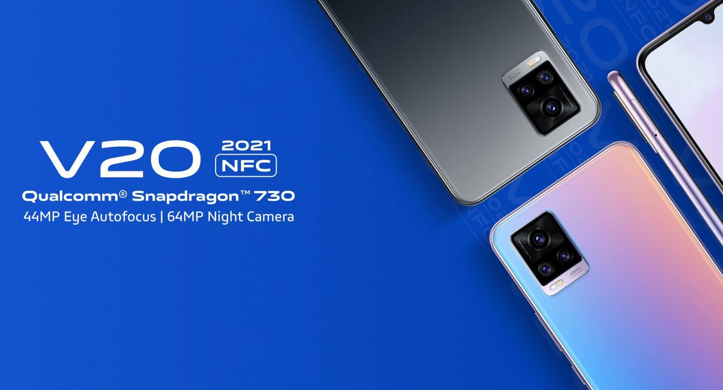 Harga dan Spesifikasi Vivo V20 2021 Terbaru Bertenaga Snapdragon 730
