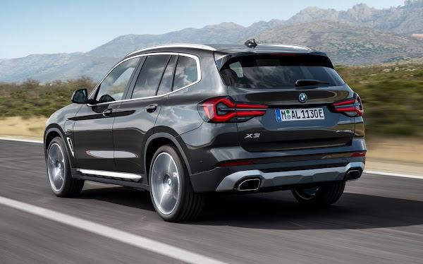 Novo BMW X3 2022 chega ao Brasil versões híbridas plug-in - fotos e preços