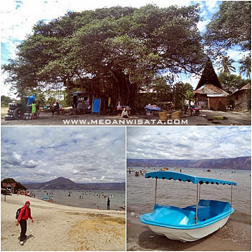 Keunikan Objek Wisata Pantai Pasir Putih Parbaba Samosir