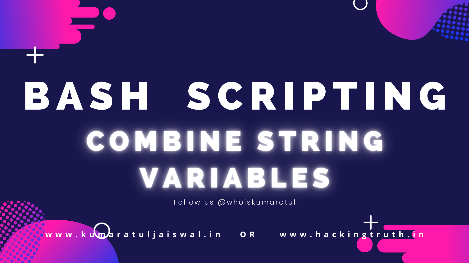 Bash Scripting Get Arguments from Command Line
