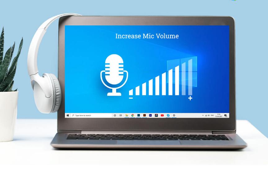 كيفية زيادة حجم صوت الميكروفون - Windows 10