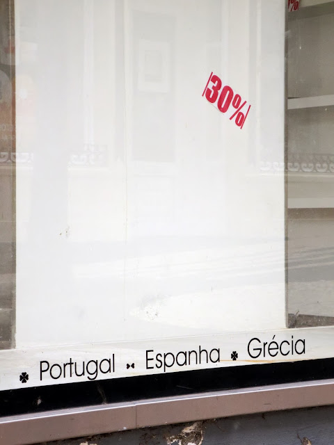 "Portugal, Spain and Greece are on ""sale"" with 30% discount"