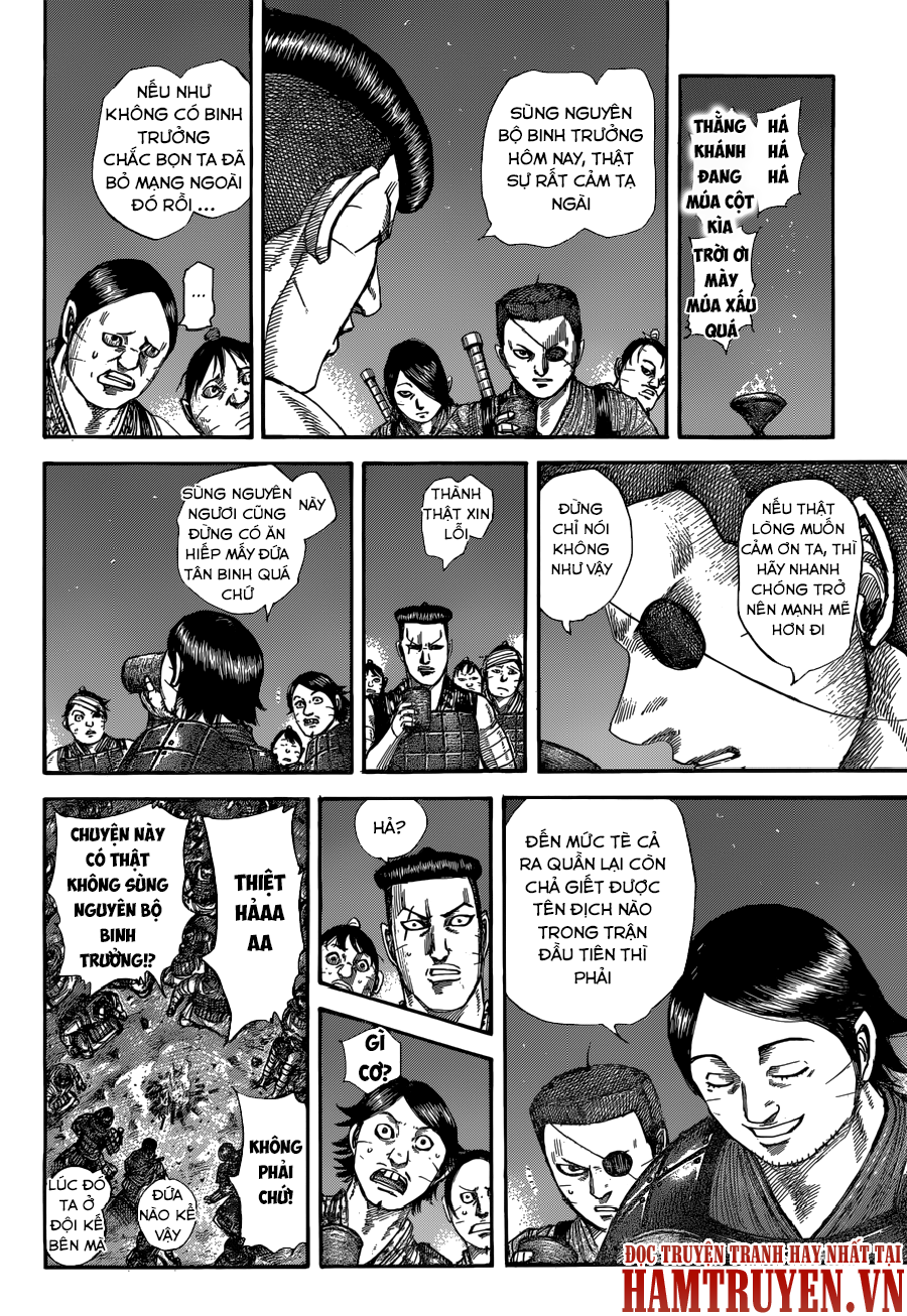 Kingdom chapter 510: đêm của tân binh trang 5
