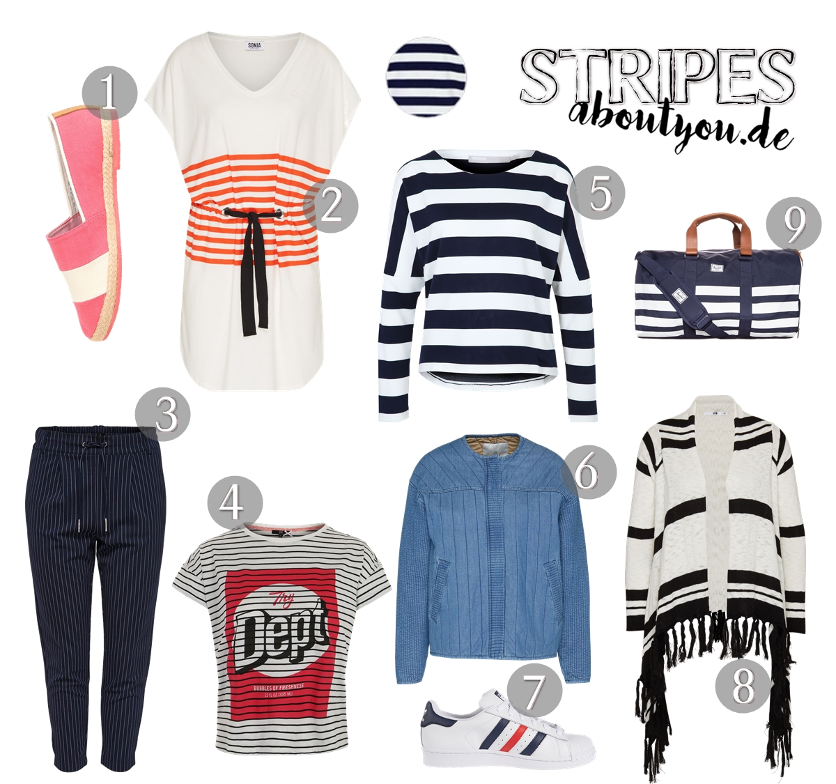 Fashion Trend Stripes - Favorite Fashion Items