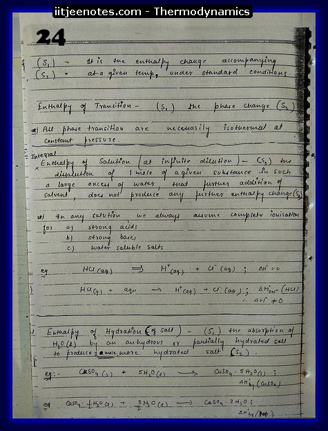 Thermodynamics Notes8