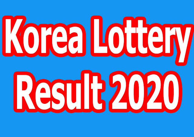 Korea Lottery Result 2020