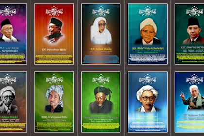Download Desain Poster Tokoh NU