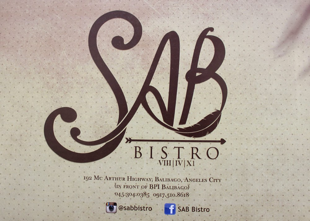 Sab Bistro, Angeles City, Pampanga