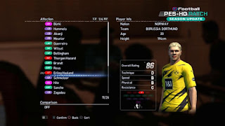 pes 2013 new faces