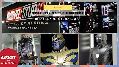 [Explore] Marvel Studios : Ten Years Of Heroes Exhibition @ Pavilion KL