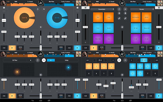 Download Cross DJ Pro v3.0.6 Apk Full Version