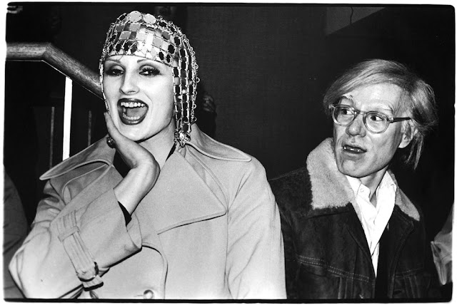 Cherry Vanilla e Warhol. Foto di Anton Perich