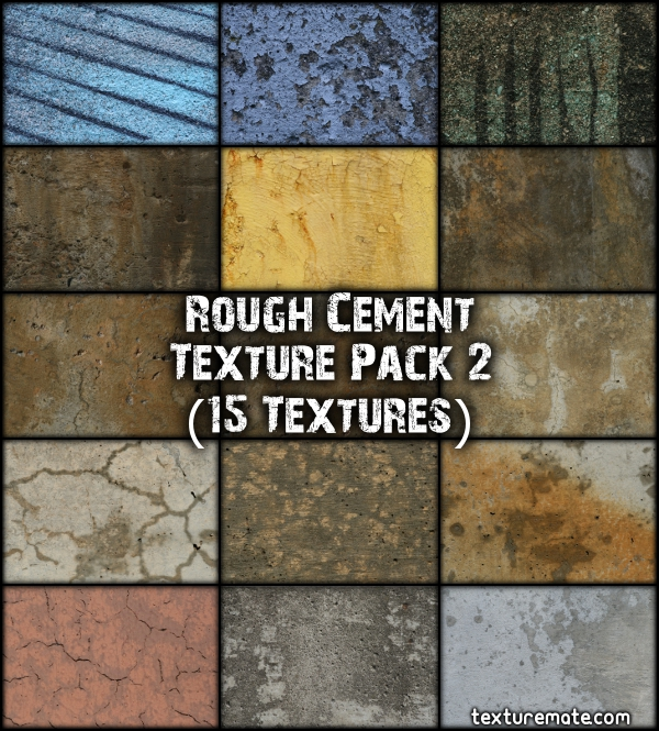 Free Texture Pack for Commercial Use - Rough Cement 2