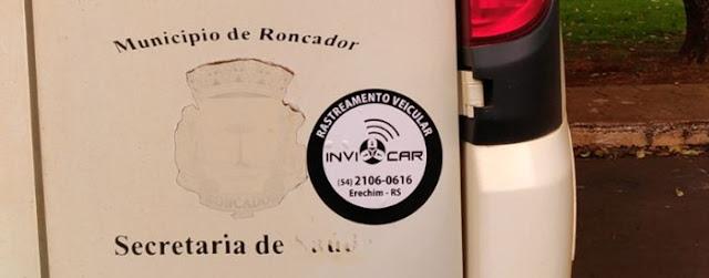 Prefeitura de Roncador vai rastrear frota de veículos