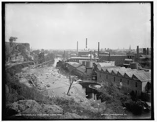 The textile mills in Paterson, New Jersey, where Galleani found support among the workforce