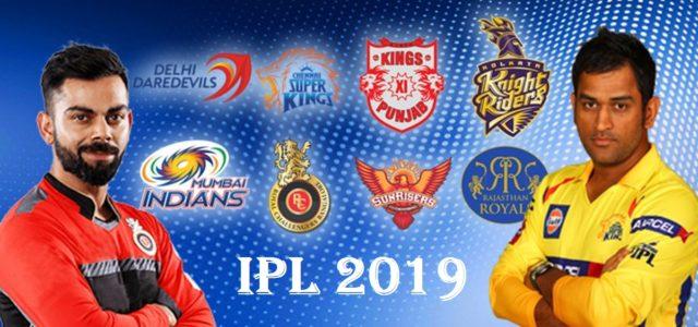 IPL live 2019