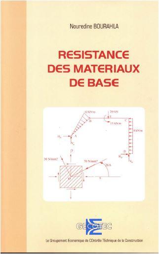 résistance des matériaux de base cours et exercice corrigé en pdf